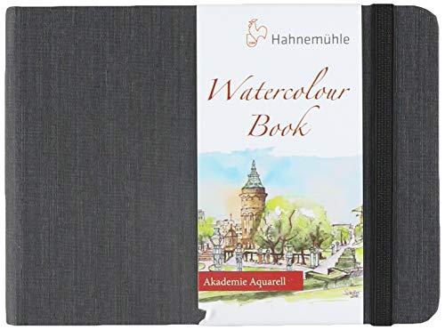 Aquarellbuch, Landschaftsformat 200 g/m², 30 Blatt/60 Seiten, A6