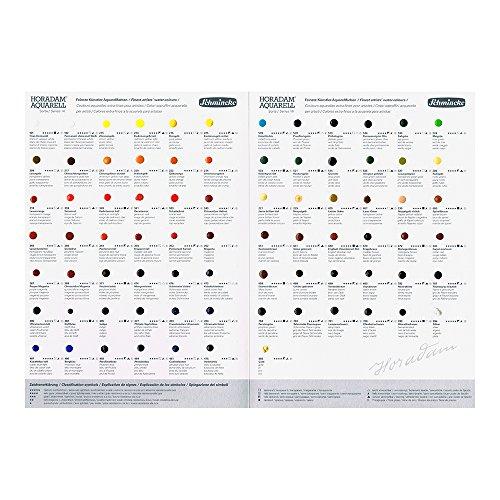 Schmincke : Horadam Watercolour : 80 Colour Dot Card