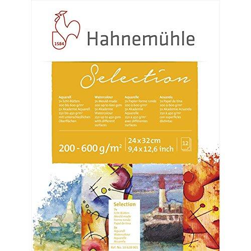Hahnemühle Aquarellblock Selection 12 24x32cm [Spielzeug]