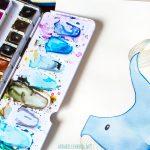Aquarellfarben im Näpfchen. Welche Unterschiede gibt es?